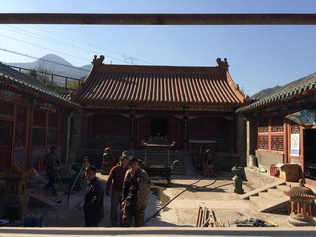 琉璃渠村关帝庙2