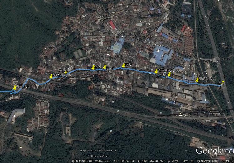 琉璃渠村卫星图